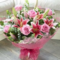 Bright Pink Bouquet